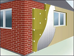 Наружное утепление дома с помощью Фасад Баттс