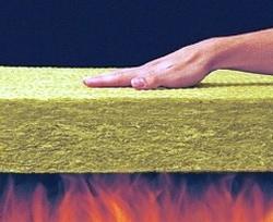 Плиты Роквул Кавити Баттс способны выдержать прямое воздействие огня!