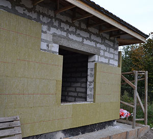 утепление фасада каменной ватой