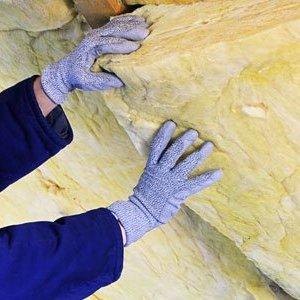 Укладка плит минеральной ваты