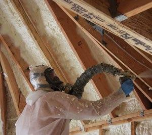 Теплоизоляция скатной крыши пенополиуретаном