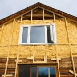 Монтаж деревянной обрешетки на утепляемой поверхности дома