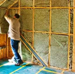 Монтаж внутренней теплоизоляции дома