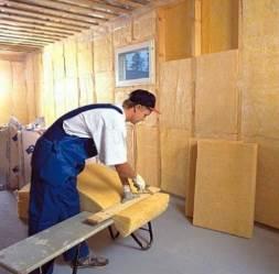 Минераловолоконная теплоизоляция стен