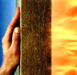 Минераловатная изоляция выдерживает высокие температуры