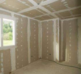Внутренняя теплоизоляция стен дома гипсокартоном