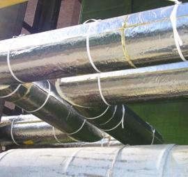 Трубы водоснабжения с теплоизоляцией