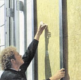 Монтаж навесного вентилируемого фасада