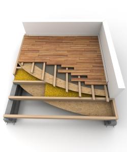 Теплоизоляция пола на балконе